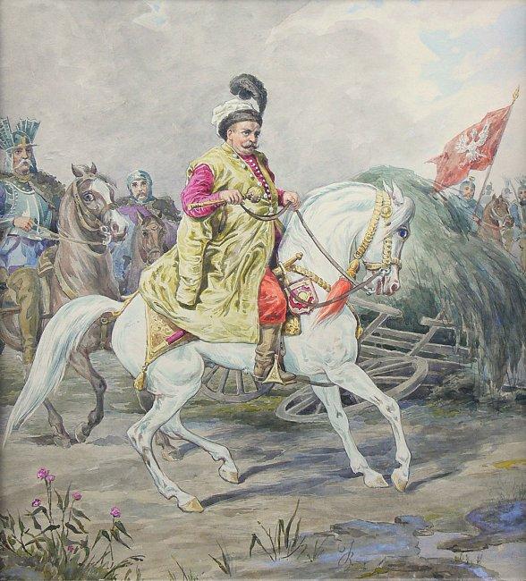 Józef Brodowski   Jan III Sobieski, ok. 1860–1880