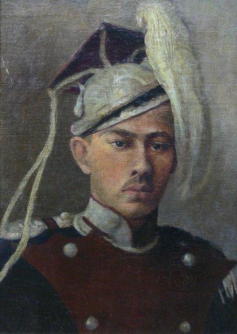Artysta nieokreślony   Portret niemieckiego Oficera Kawalerii