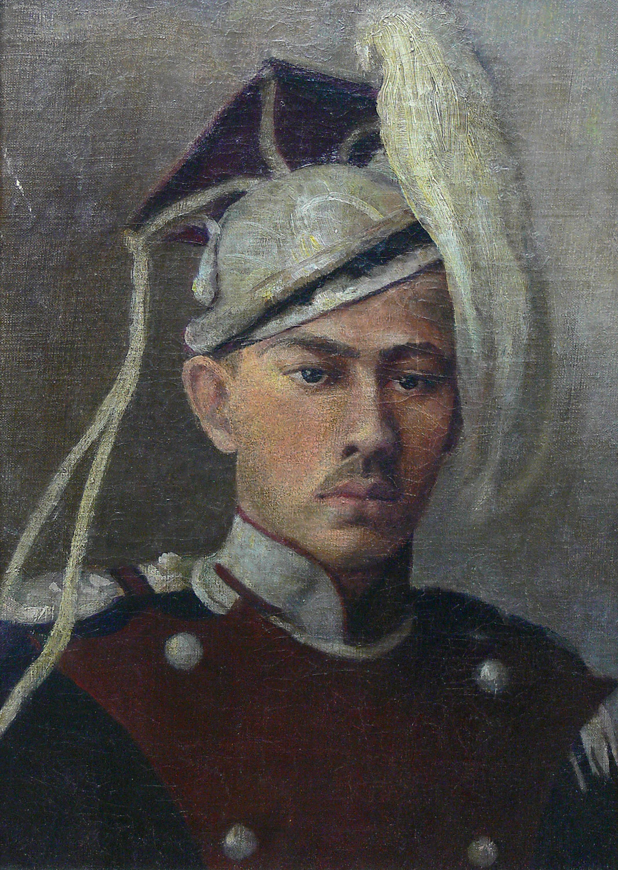 Artysta nieokreślony | Portret niemieckiego Oficera Kawalerii