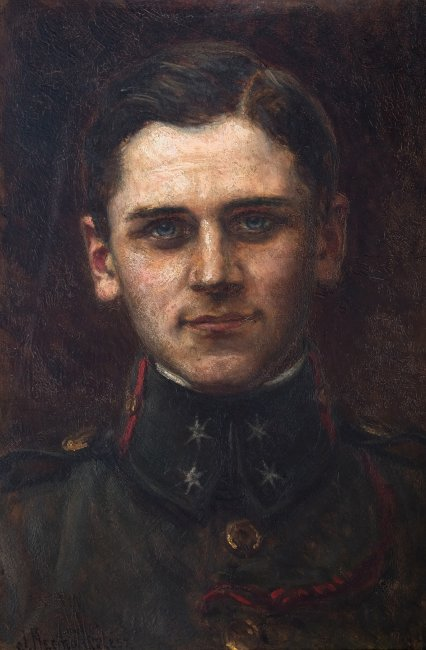 Józef Krzesz-Męcina   Portret sekcyjnego piechoty Legionów Polskich w 1914 r.