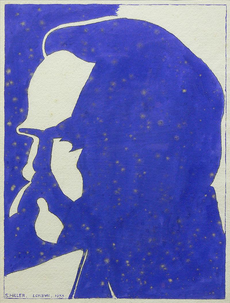 S. Hiller   Portret Marszałka Piłsudskiego, 1933 r.