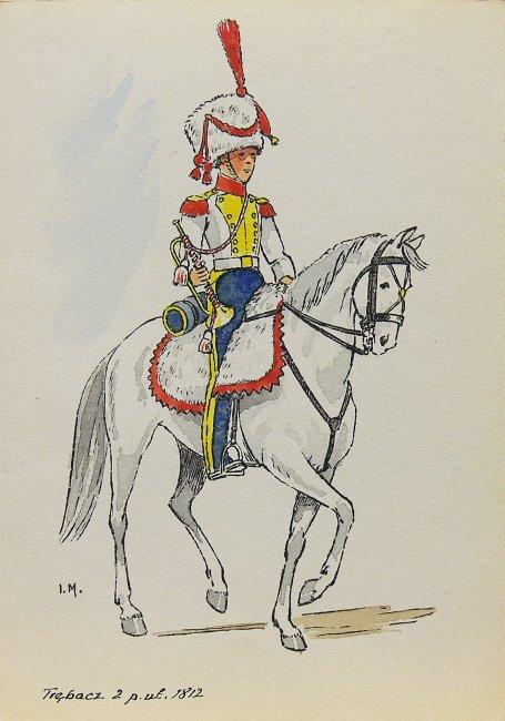 Ignacy Matuszczak   Trębacz 2 Pułku Ułanów z 1812