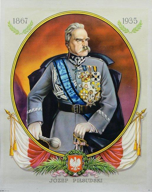 Artysta nieokreślony   Apoteoza Marszałka Józefa Piłsudskiego