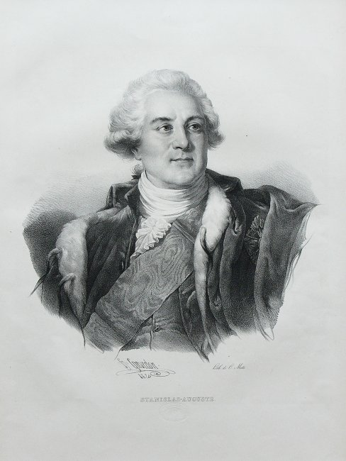 Henri Grevedon   Popiersie Stanisława Augusta Poniatowskiego