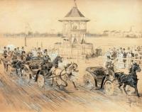 Wyścigi zaprzęgów konnych