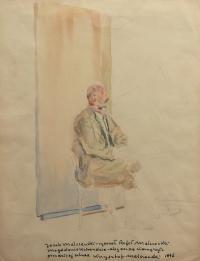 Portret ojca, Jacka Malczewskiego