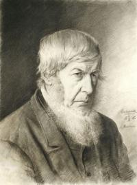 Portret mężczyzny, 1885 r.