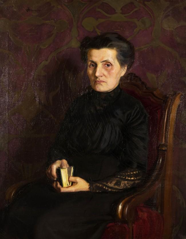 portret-matki-artysty-1911-r-stanislaw-klimowski