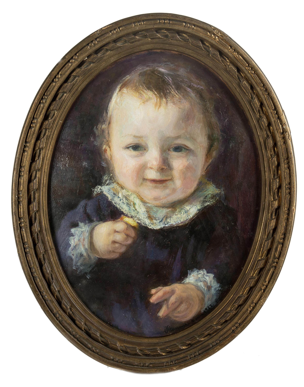 portret-dziecka-1922-r-stanislaw-klimowski
