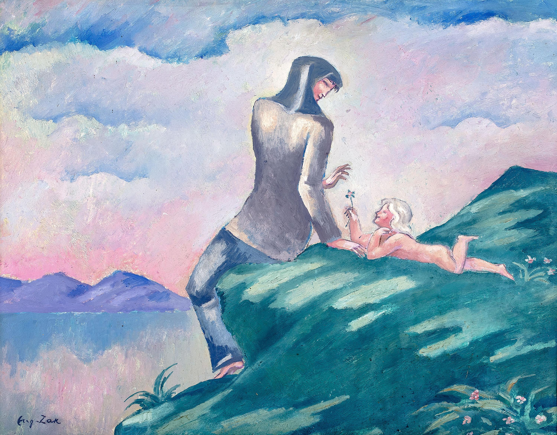 Eugeniusz Zak | Kobieta z dzieckiem