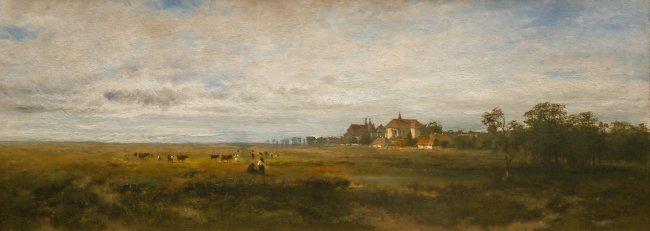Aleksander Władysław Malecki | Przedmieścia Krakowa, 1872 r.