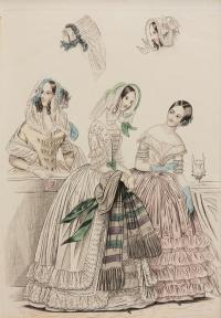 Costumes Parisien, 1834 r.