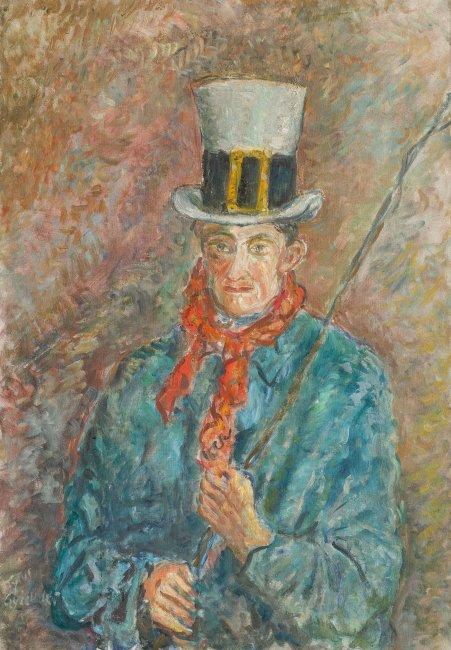 Tytus Czyżewski | Stangret (Woźnica), 1936 r.