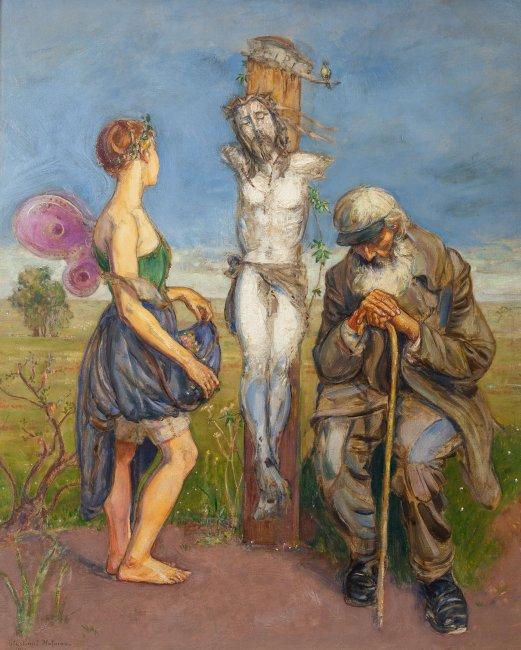 Wlastimil Hofman | Scena symboliczna, 1913 r.