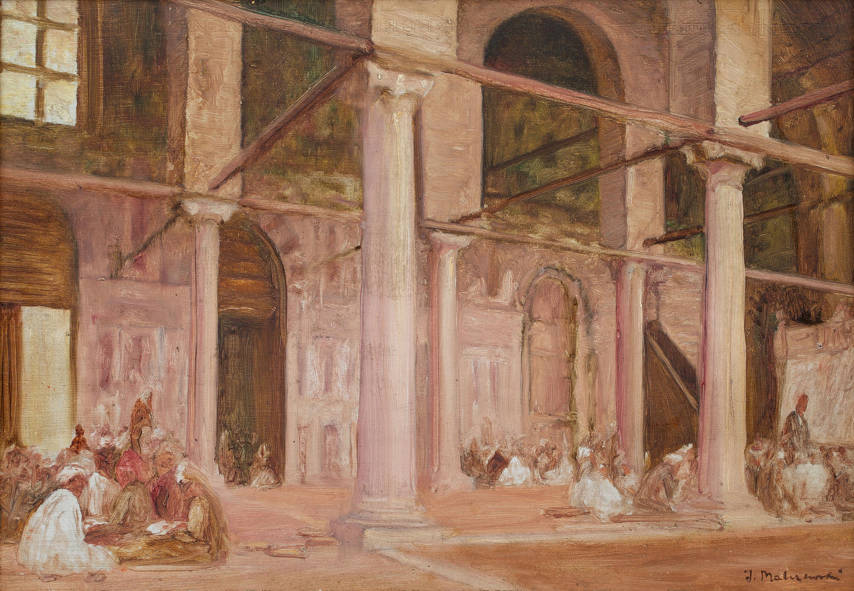 Jacek Malczewski | Kupcy arabscy, 1884 r.