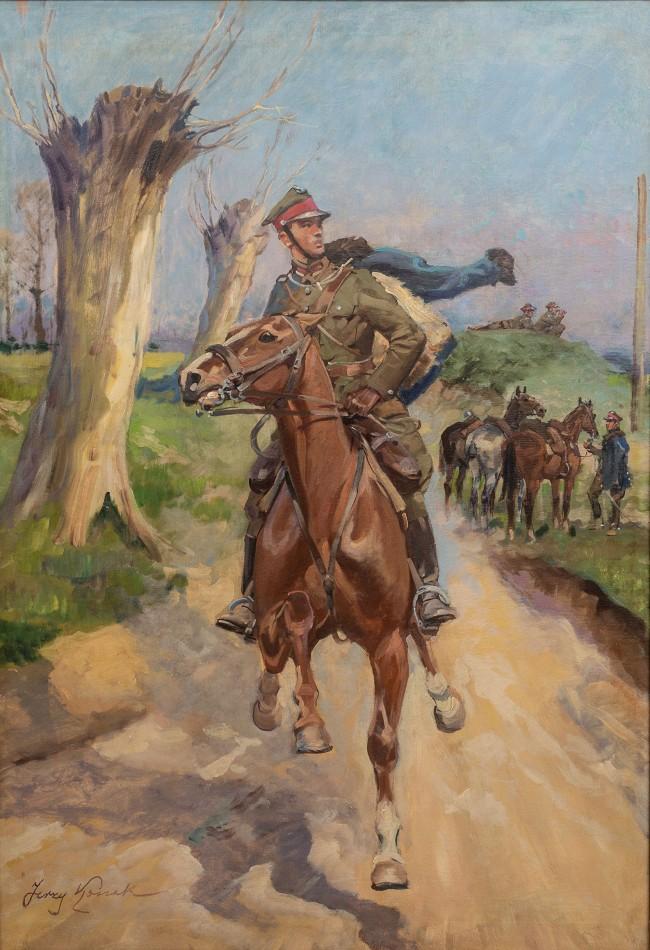 zwiad-ulanski-lata-1920-30-jerzy-kossak