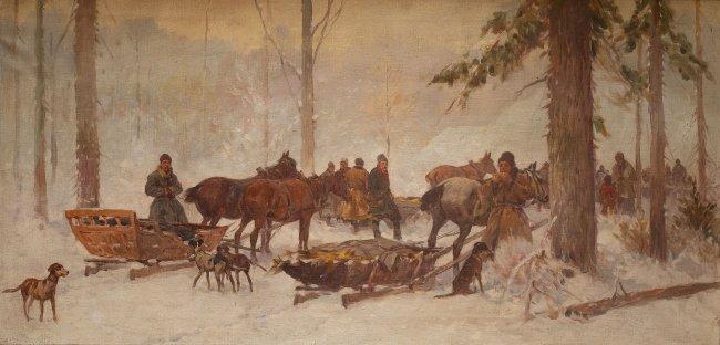 Adam Setkowicz | Zimowe polowanie
