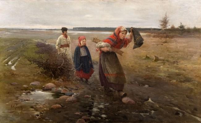 na-blotnistej-drodze-1890-r-apoloniusz-kedzierski