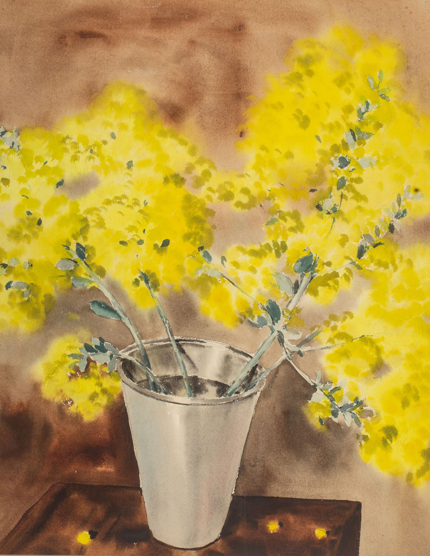 Rafał Malczewski | Kwiaty w wazonie