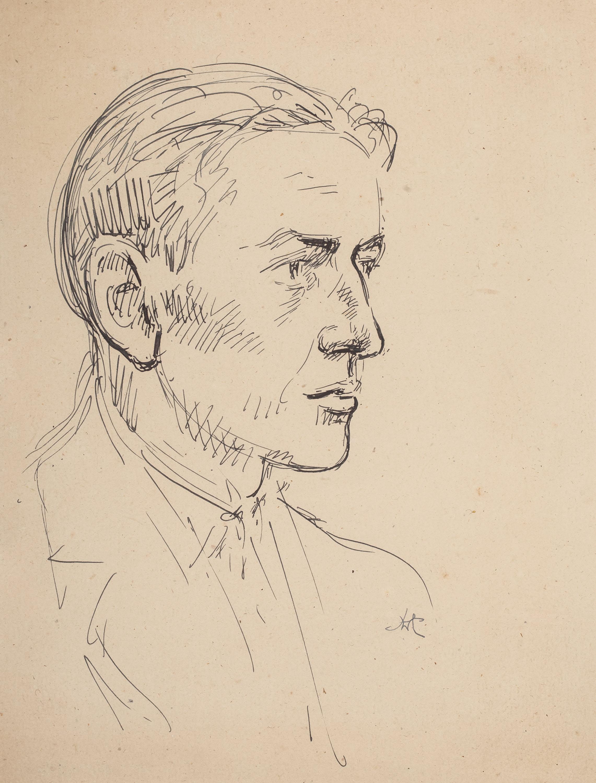 Wlastimil Hofman | Portret mężczyzny