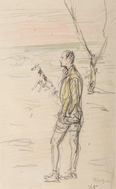 Wlastimil Hofman   Spacer z psem