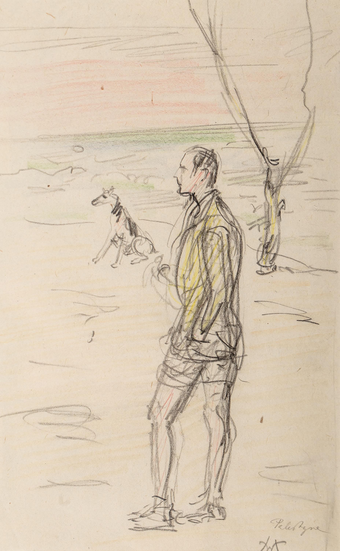 Wlastimil Hofman | Spacer z psem