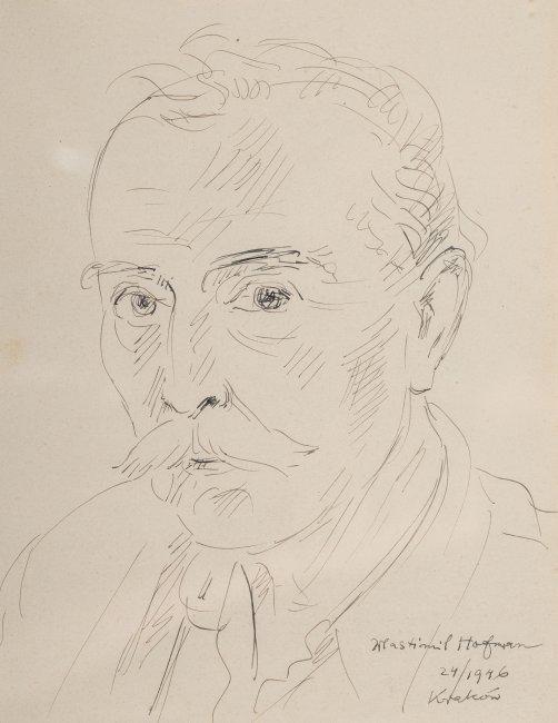 Wlastimil Hofman   Autoportret, 1946r.