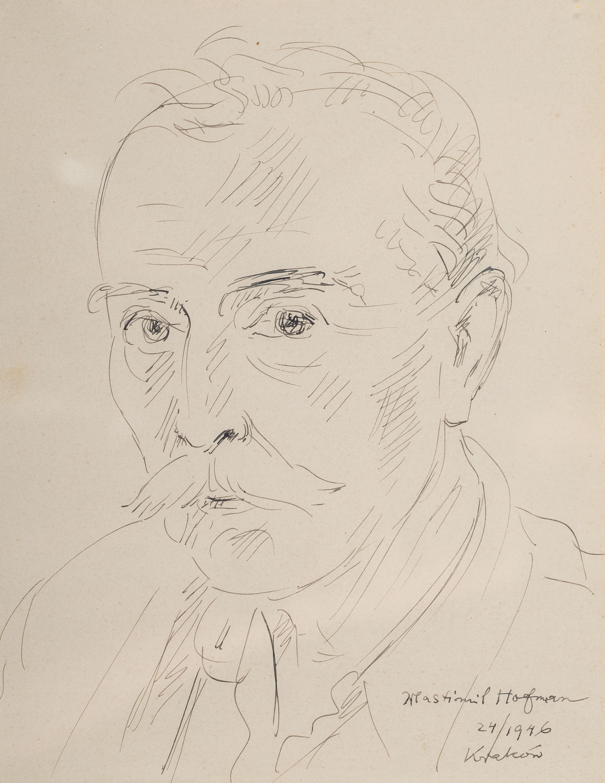 Wlastimil Hofman | Autoportret, 1946r.