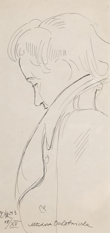 Wlastimil Hofman   Młodsza ochotniczka, 1943 r.