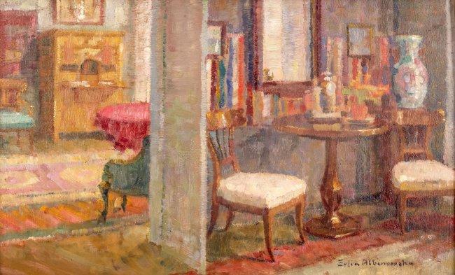 Z. Albin.-Minkiewiczowa   W salonie