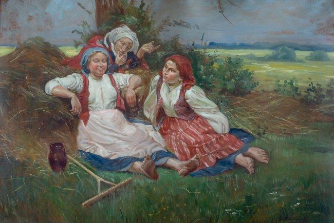 Wincenty Wodzinowski   Odpoczynek