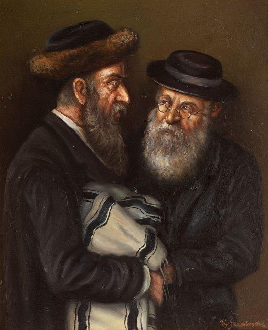 Konstanty Szewczenko | Dwóch rabinów z torą
