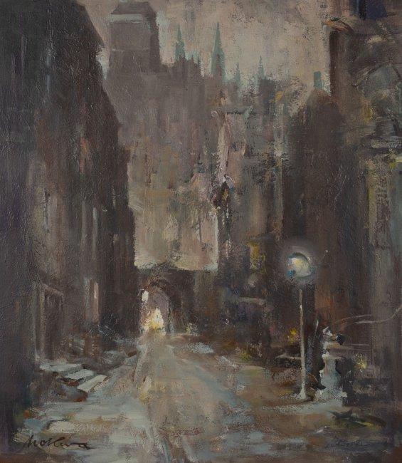 Marian Mokwa | Ulica w Gdańsku