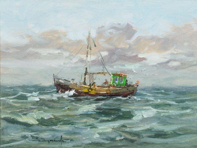 Eugeniusz Dzierzencki | Kuter rybacki