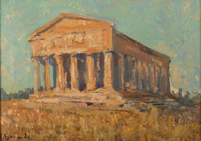Henryk Baranowski | Ruiny greckiej świątyni
