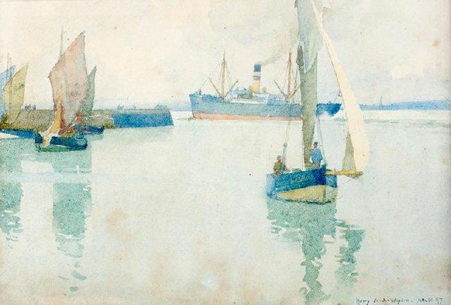 Harry Van der Weyden | Łodzie, 1897 r.