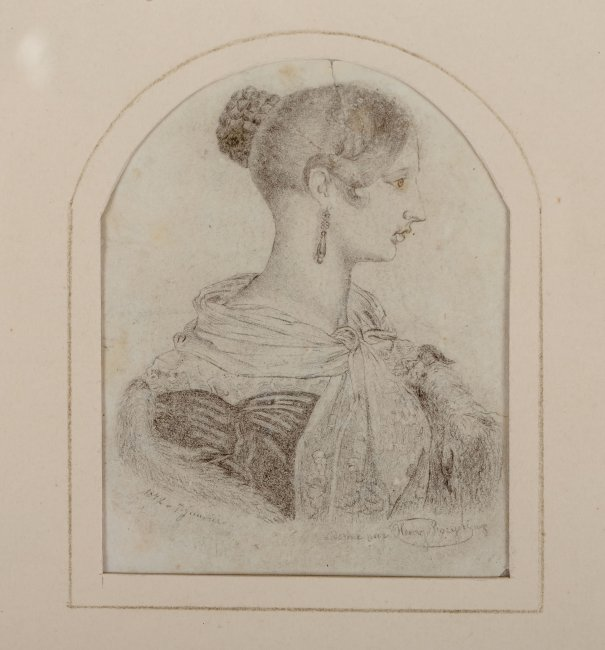 Henry Rozycki | Portret królowej Wiktorii, 1842 r.