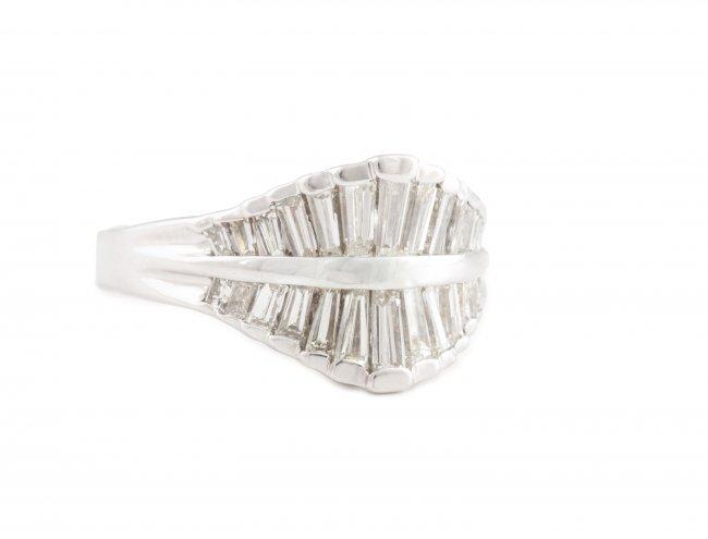 Pierścionek z diamentami, współczesny