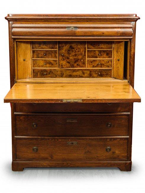 Sekretera, XIX w.