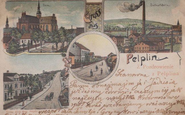 Kolekcja 104 widokówek z widokami Pelplina, od około 1900 do około 1945