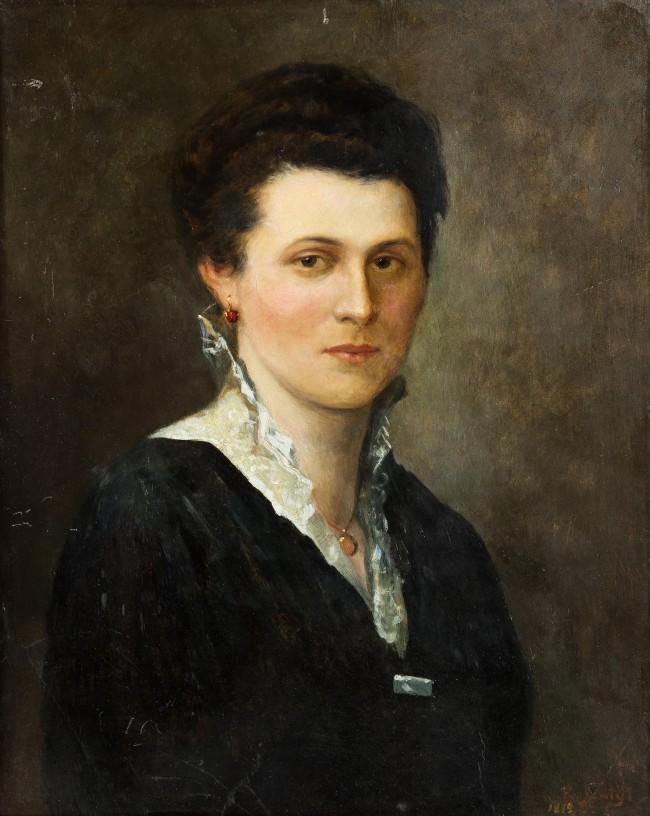 portret-kobiety-mn-sygnowany-nieczytelnie