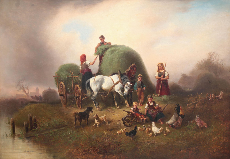 Wilhelm Alexander Meyerheim | Sianokosy