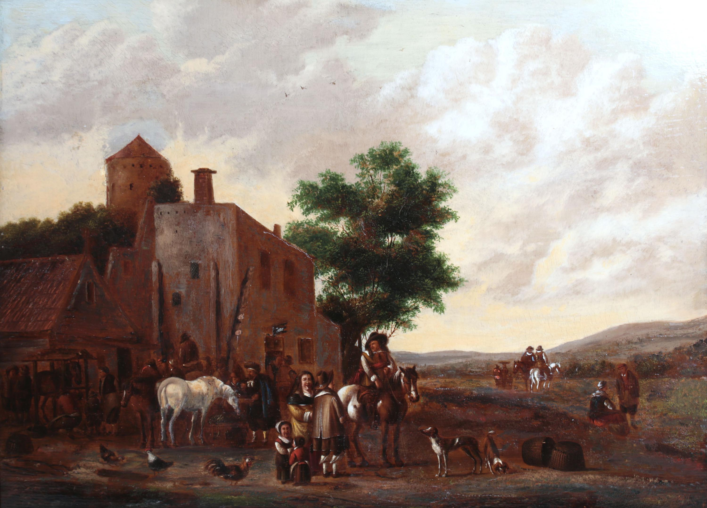 Cornelis van Essen | Scena rodzajowa