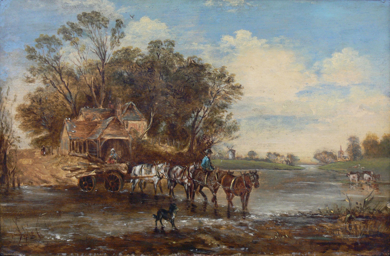Artysta nieokreślony   Przeprawa przez rzekę