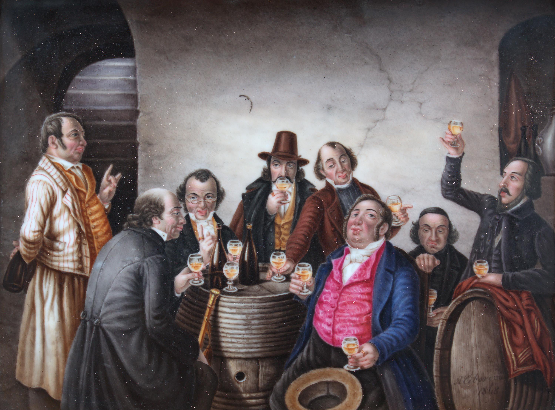 Artysta nieokreślony | Scena w karczmie, 1868 r.