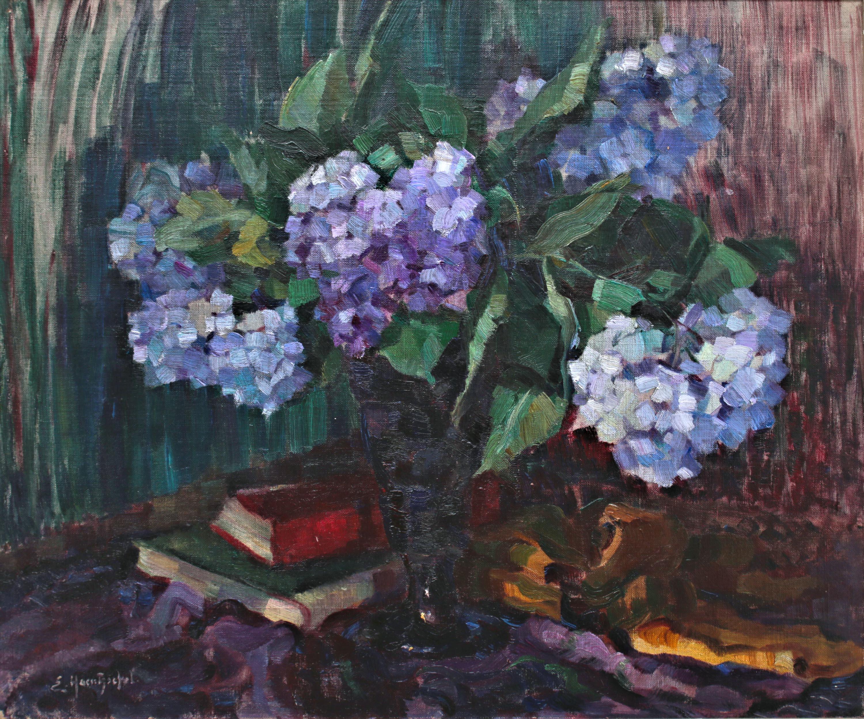Elisabeth Haentzschel | Hortensje w wazonie