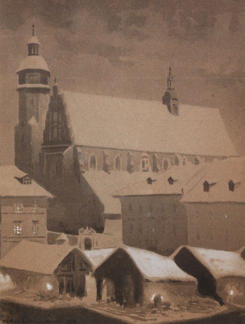 Stanisław Fabijański | Kościół Bożego Ciała w Krakowie, 1918 r.