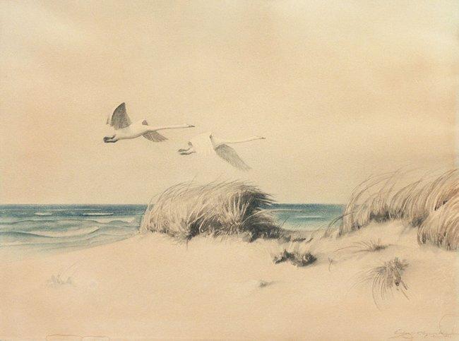 Artysta nieokreślony | Pejzaż z wydmami