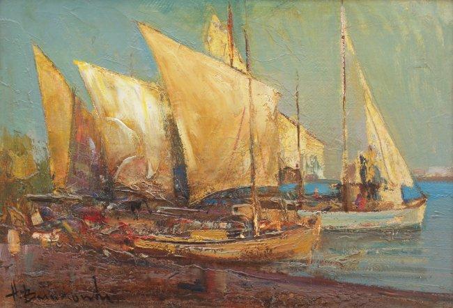 Henryk Baranowski | Jachty w Splicie, 1984 r.