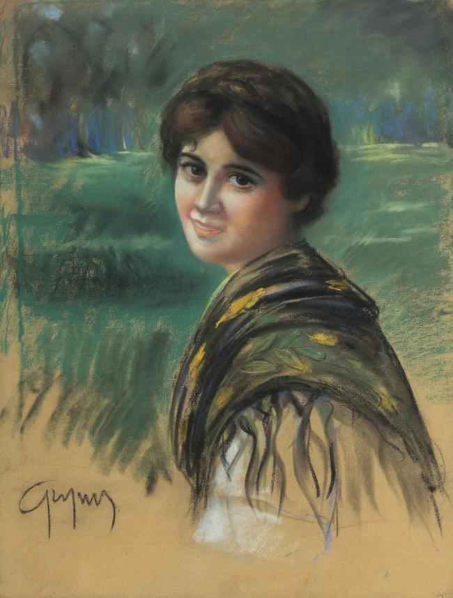 portret-kobiecy-stanislaw-grzyms